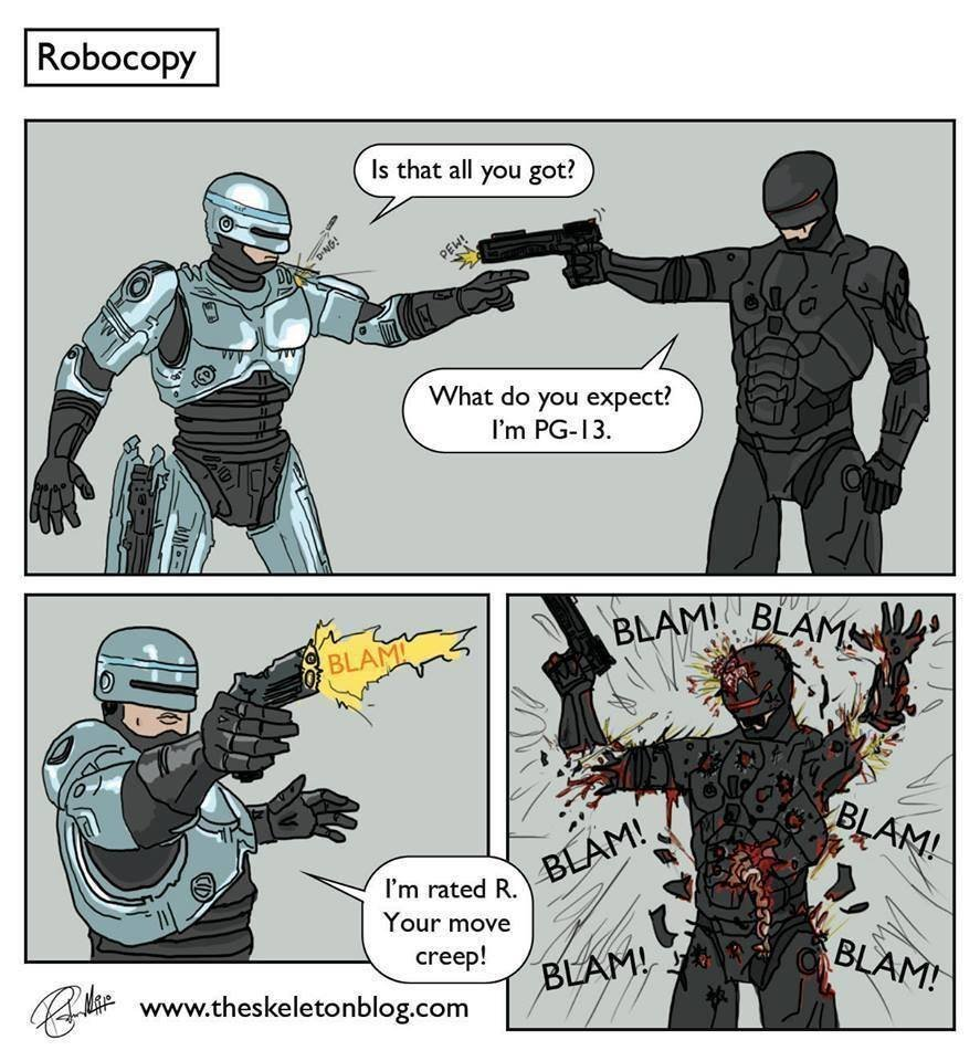 Robocop (2013) @ Slo-Tech