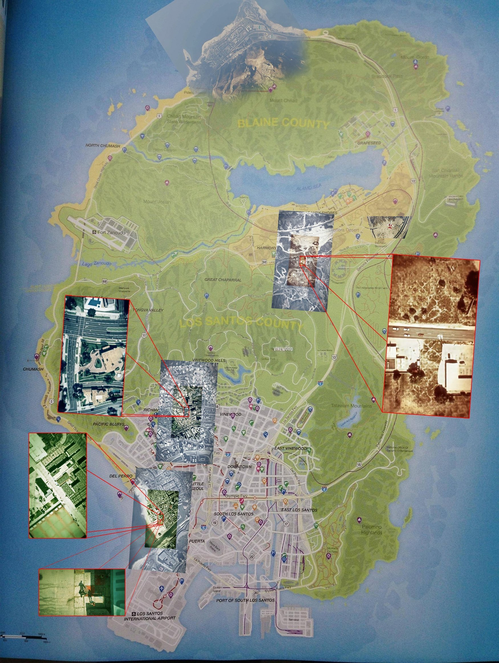 Grand Theft Auto V Map Leaked N4G